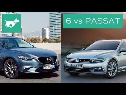 2017 Mazda 6 Wagon vs 2017 Volkswagen Passat Wagon Comparison Review
