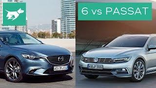2017 Mazda 6 Wagon vs 2017 Volkswagen Passat Wagon Comparison Review