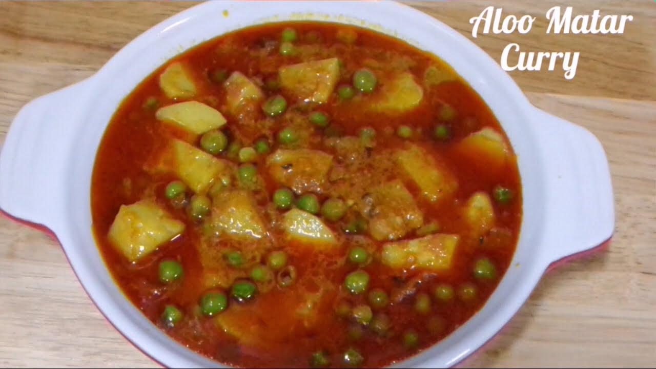 Aloo Matar ki Sabzi / Vegan Indian Potato Peas Curry QuickYouTube