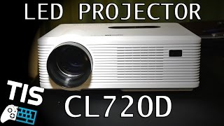 Excelvan CL720D LED Projector - Unboxing & Hands on