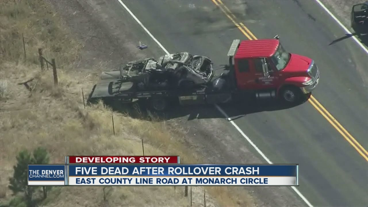 5 killed after rollver crash on County Line Road