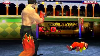 Tekken 3 Jin Kazama Hard Difficulty Playthrough thumbnail