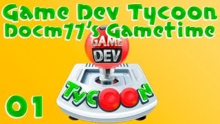 How To Make The Perfect Game? - Game Dev Tycoon w/ Docm77 - #1