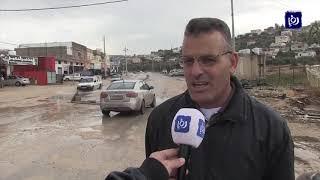 إعادة فتح طرق أغلقتها الأمطار وإخلاء منزل في الكورة - (11/12/2019)