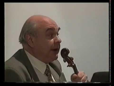 Prof. Sergey Kravchenko. Masterclass. 2002 y.