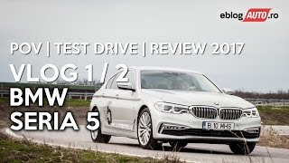 BMW 520d xDrive (Seria 5 G30) POV 1/2 | Test Drive | Review 2017