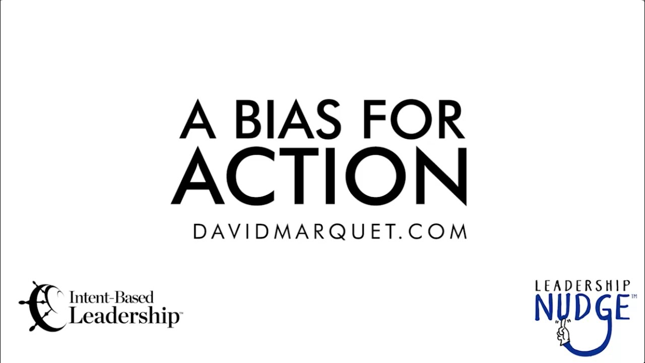 a bias for action pdf