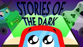 Stories Of The Dark Car Songs And Rhymes For Kids | Little Red Car