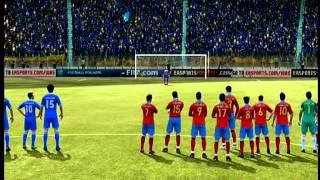 FIFA 12 ITALIA-SPAGNA RIGORI