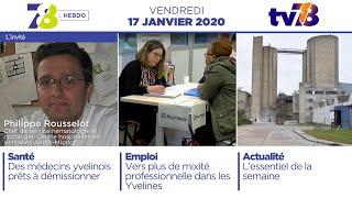 7/8 L'Hebdo. Édition du vendredi 17 janvier 2020