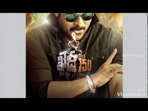Khaidi No 150 | Neetho Untunte Song | Satya Sagar, Hemachandra, Shravya Manasa #TeluguSongs #FanMade
