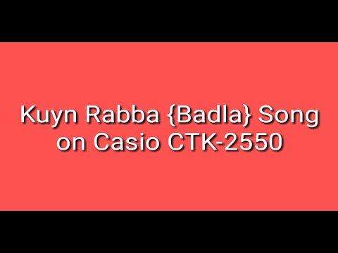 kyun-rabba-{badla}-on-casio-ctk-2550