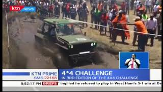 Ramesh Halai with Varsani Kishor are winners of the third edition of the 4x4 challenge