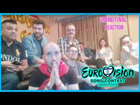 REACCIÓN a la FINAL de EUROVISION 2019 💔Drama España💔 Grand Final Eurovision LIVE #Eurovision