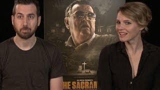 Director Ti West and Amy Seimetz Talk