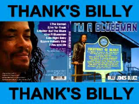 Billy Jones Bluez - Im A Bluesman -  - You And Me - Dimitris Lesini Blues