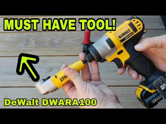 DeWalt DT71517T-QZ Right Angle de Torsion Drill Attachment