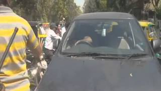 Road rage caught on camera: Woman abused, her car rammed repeatedly with Innova