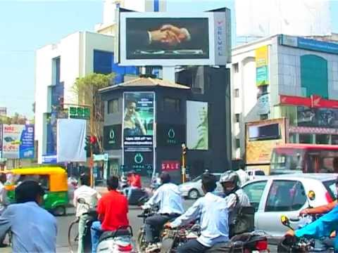 Outdoor LED Display Advertising - Ahmedabad by  Selvel Media
