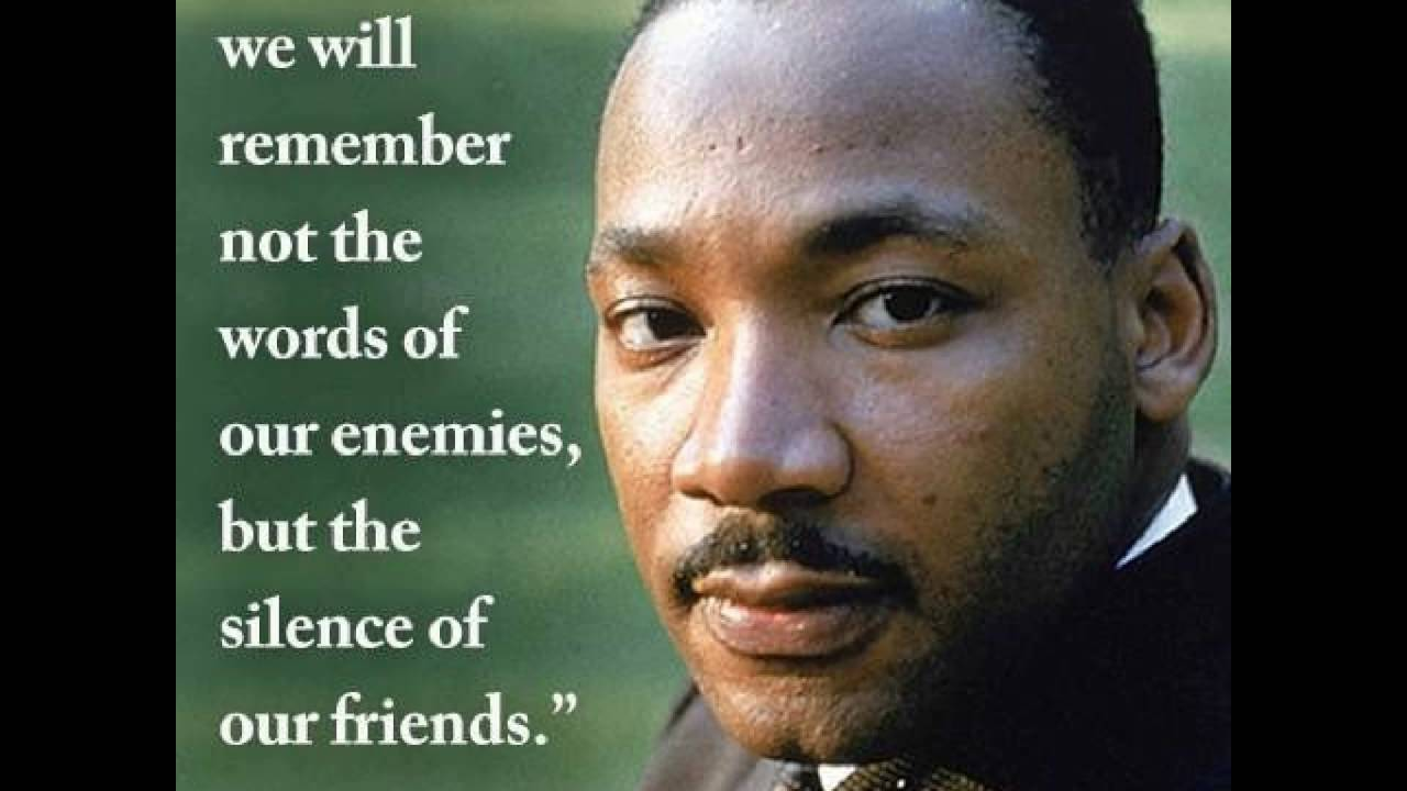 Martin Luther King Inspirational Quotes Youtube