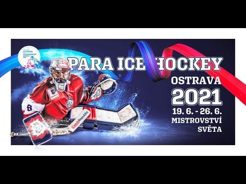 ParaHockeyTV - Game Day 2 - Česko vs USA LIVE