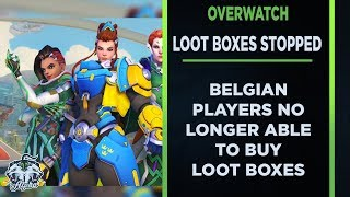 Belgian Overwatch and Heroes of the Storm Players can no longer buy Loot Boxes