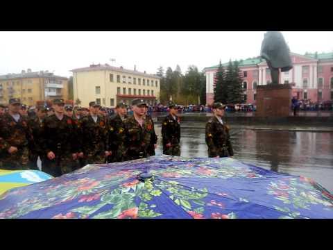 Парад в Снежинске 2015