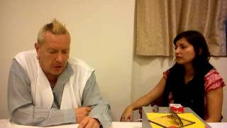 TomTom.fm interview in Zagreb with John Lydon (aka Johnny Rotten) from PiL/Sex Pistols