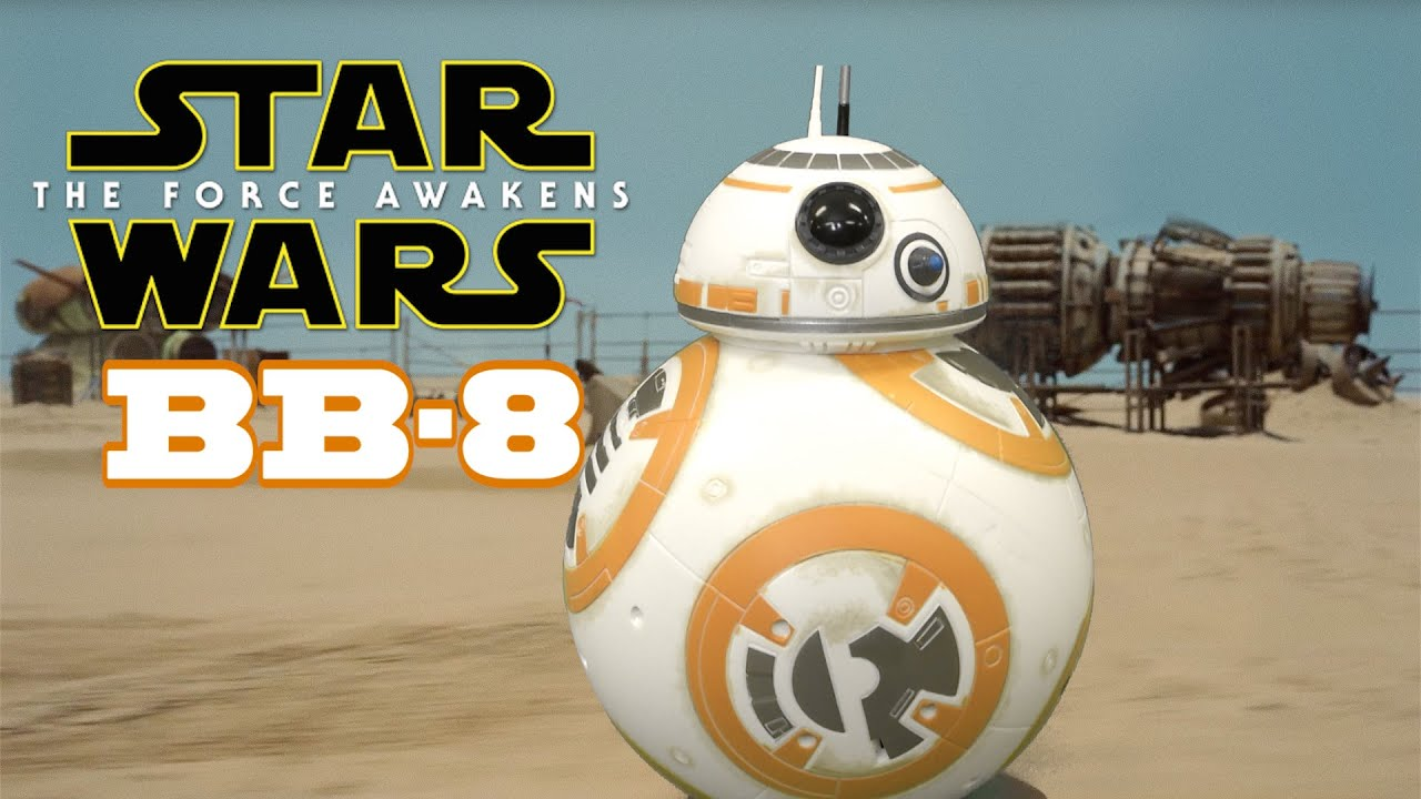 star wars the force awakens bb-8 r/c from hasbro - youtube