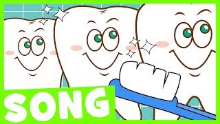 Brush Your Teeth Song | Simple Nursery Rhyme for Kids