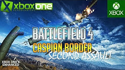 """Battlefield 4 """"Caspian Border"""" in 2019   Xbox One X Multiplayer Conquest Gameplay in UHD - BF4"""