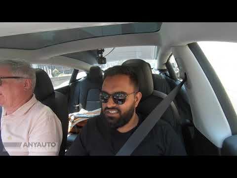 Part 2 tesla Review Interior and FARTING - ANYAUTO