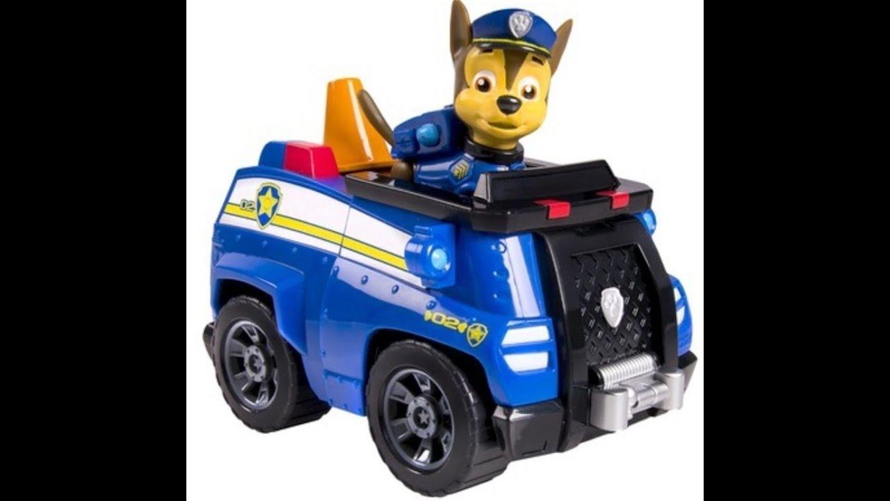 la patrulla canina paw patrol chase y su cami n de polic a. Black Bedroom Furniture Sets. Home Design Ideas