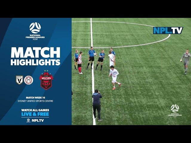 NPL NSW Men's Round 16 – Northbridge Bulls v Wollongong Wolves