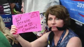 "Del. Sanders delegate: ""Democratic party losing a generation of voters"""