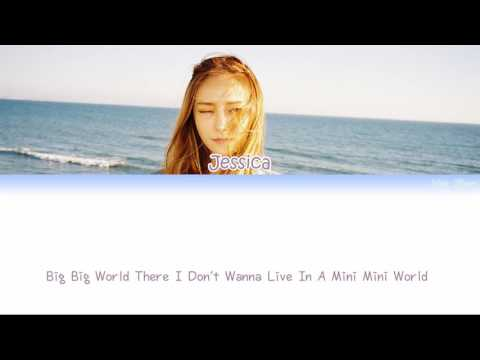 Jessica (제시카) – Big Mini World Lyrics (Han|Rom|Eng)