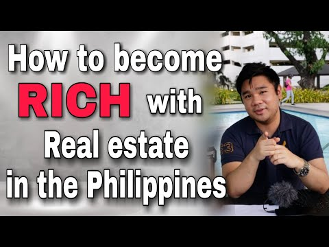 How to become RICH with Real Estate investing in the Philippines