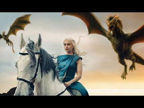 Game Of Thronesall Dragon Scenes Seasons 1 7 Youtube