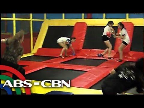 TV Patrol: Pinakamalaking indoor trampoline sa Pilipinas
