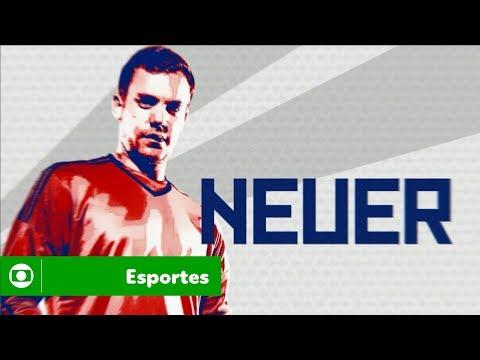 Globo Na Copa: Neuer é um dos craques que você vai ver na tela da Globo