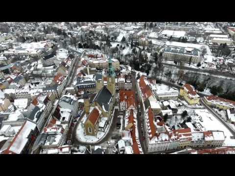 Flüge über Freiberg im Winter