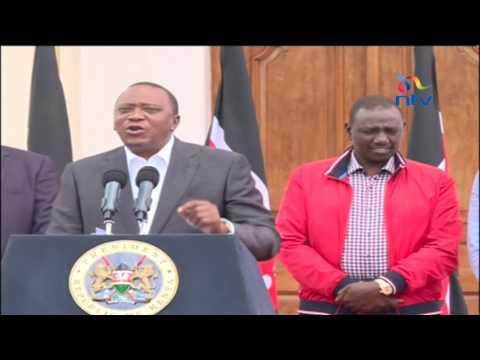 President Kenyatta's statement on Jubilee nominations process