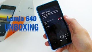 Microsoft Lumia 640 Unboxing And First Impressions