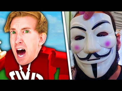 JUSTIN PZ9 UNMASKED IN ROBLOX… (Chad Wild Clay, Vy Qwaint, Project Zorgo, Daniel PZ1) - CWC Ninja?
