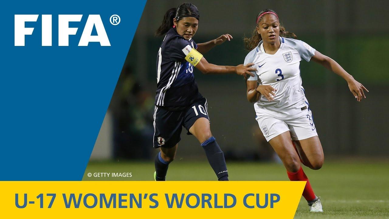Match  Japan V England Fifa Womens U World Cup Jordan  Youtube