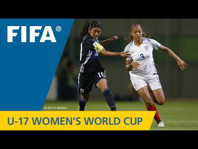 Match 28: Japan v England - FIFA Womens U17 World Cup Jordan 2016
