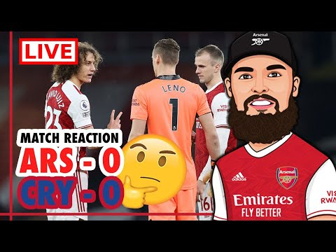 ARSENAL 0-0 CRYSTAL PALACE MATCH REACTION 🤔 | TIGHT BUT WE'RE LUCKY TO GET AWAY WITH A POINT❗️