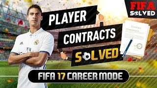 FIFA 17 Career Mode Player Contract Tips