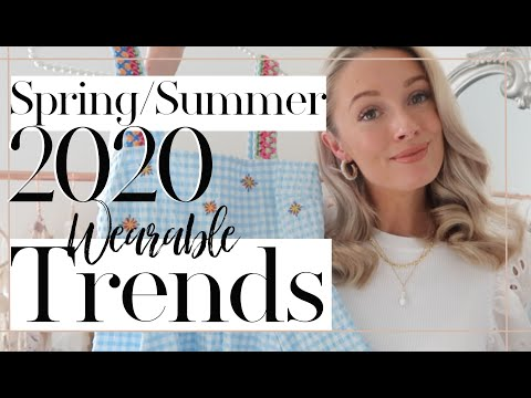 TOP 7 MOST WEARABLE TRENDS FOR SPRING / SUMMER 2020 // Fashion Mumblr