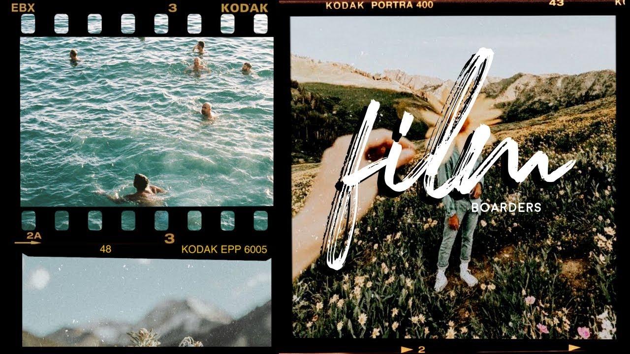 How To Add Analog Film Frames To Your Photos Free Kodak Film Frames Youtube